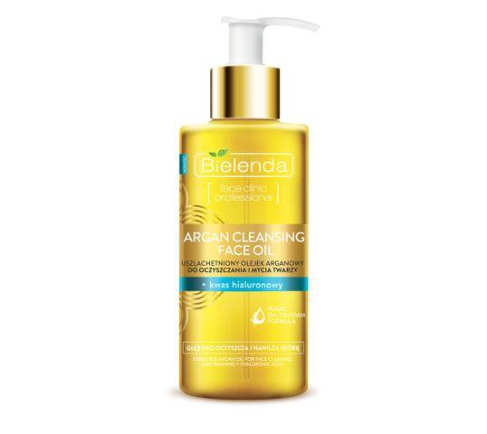 Bielenda Argan Cleansing Face Oil (olejek do mycia twarzy z kwasem hialuronowym 140 ml)