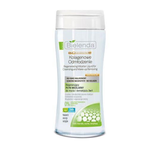 Bielenda BioTechnologia 40+ Kolagenowe Odmłodzenie (regenerujący płyn micelarny do twarzy 200 ml)