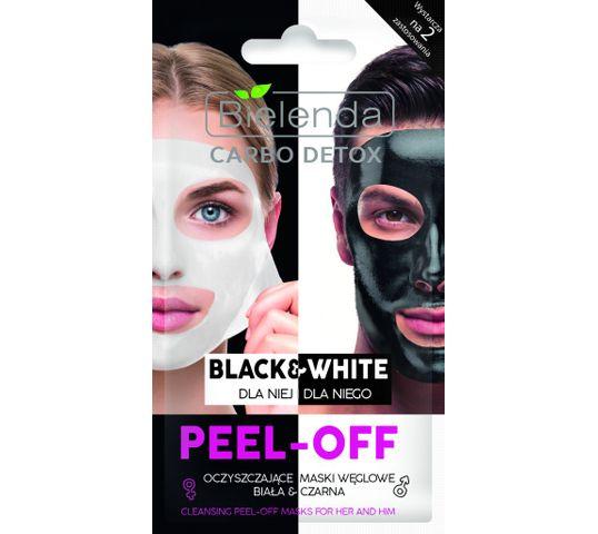 Bielenda Carbo Detox Black&White (maski oczyszczająca dla kobiet i mężczyzn 1 saszetka)