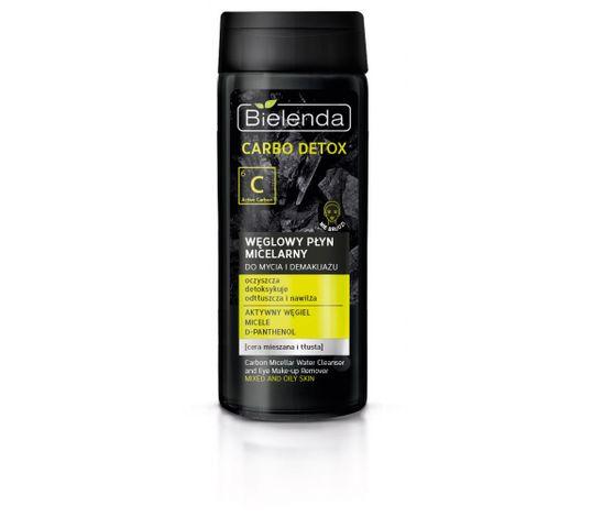 Bielenda Carbo Detox płyn micelarny (węglowy do demakijażu twarzy 200 ml)
