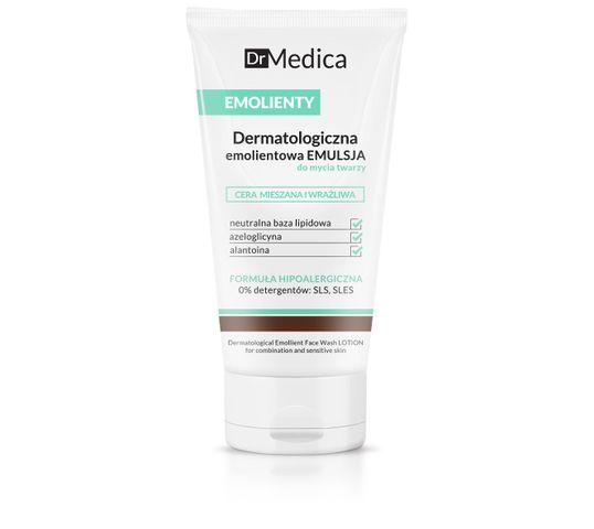 Bielenda Dr Medica Emolienty – dermatologiczna emulsja do mycia twarzy – cera mieszana i wrażliwa (150 ml)