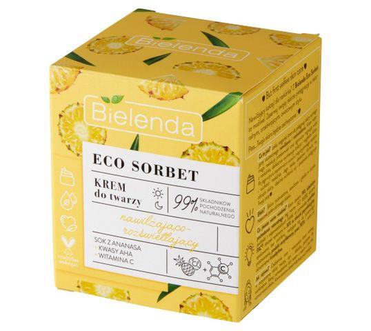 Bielenda Eco Sorbet Ananas Krem nawilżająco-rozświetlający (50 ml)