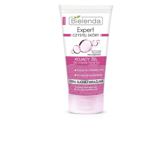 Bielenda Expert Czystej Skóry – żel do mycia twarzy kojący (150 ml)
