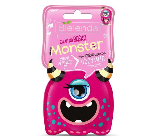 Bielenda Monster – maska w płacie 3D odżywcza Zalotna Baśka (1 szt.)
