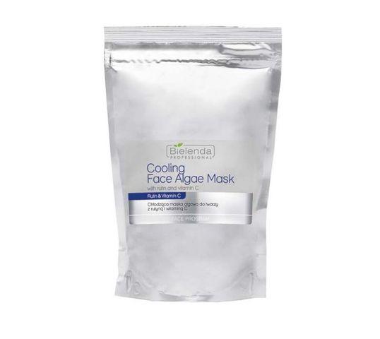 Bielenda Professional Face Program Opakowanie uzupełniające - Chłodząca maska algowa z rutyną i wit.C (190 g)
