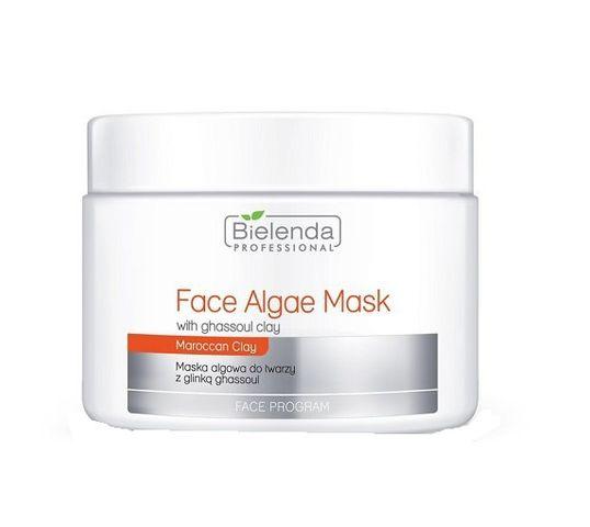 Bielenda Professional Face Program Maska algowa z glinką ghassoul (190 g)