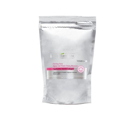 Bielenda Professional Face Program Firming Face Algae Gel Mask Cherry Blossom – maska algowo żelowa Kwiat Wiśni w saszetce (200 g)