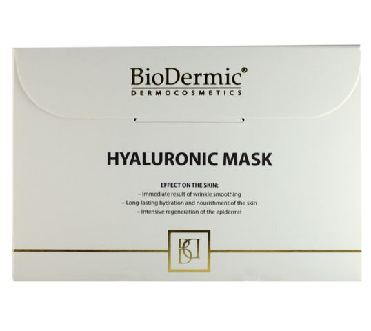 BioDermic Maska hialuronowa nawilżająco-wygładzająca w płacie 25ml