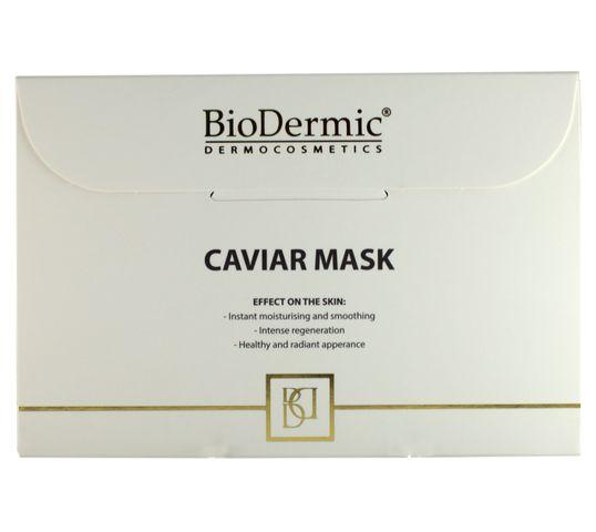 BioDermic Maska kawiorowa rewitalizująco-łagodząca w płacie 25ml