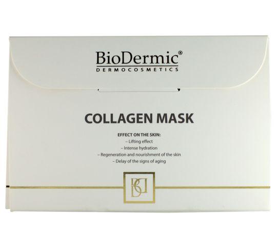 BioDermic Maska kolagenowa ujędrniająco-wygładzająca w płacie 25ml