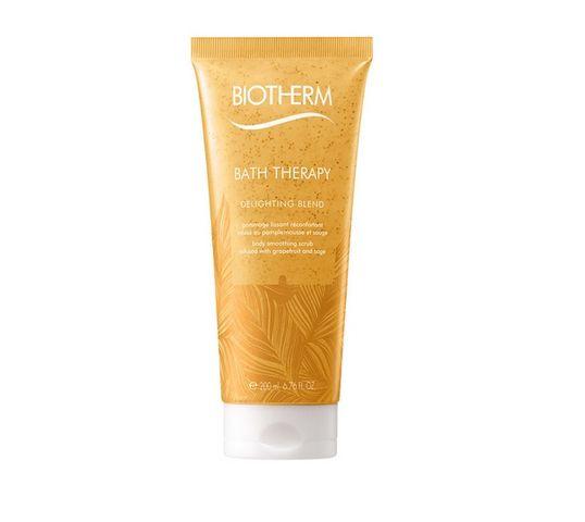 Biotherm Bath Therapy Delighting Blend Body Smoothing Scrub peeling do ciała Grapefruit & Sage 200ml
