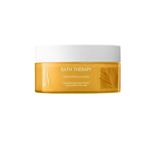 Biotherm Bath Therapy Delighting Blend Hydrating Creme krem nawilżający do ciała Grapefruit & Sage 200ml