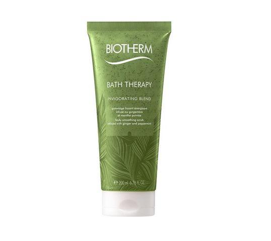 Biotherm Bath Therapy Invigorating Blend Body Smoothing Scrub peeling do ciała Ginger & Peppermint 200ml