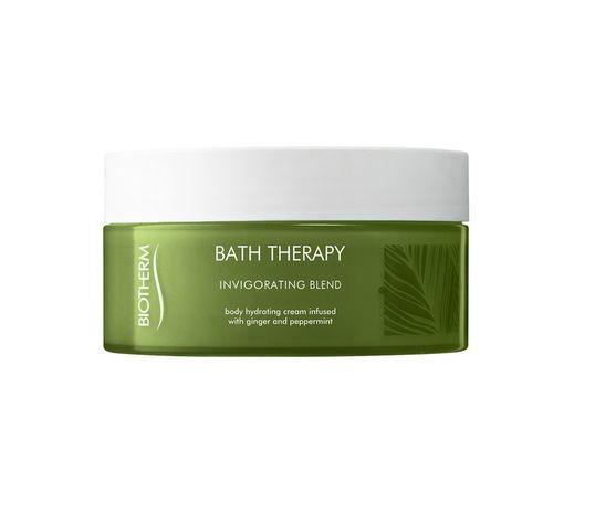 Biotherm Bath Therapy Invigorating Blend Hydrating Cream krem do pielęgnacji ciała Ginger & Peppermint 200ml