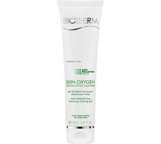 Biotherm Skin Oxygen Depolluting Cleanser żel do mycia twarzy (150 ml)