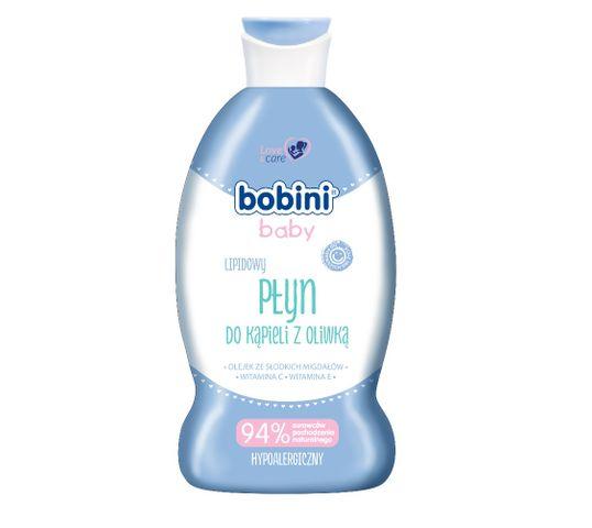 Bobini Baby Lipidowy płyn do kąpieli z oliwką 330ml