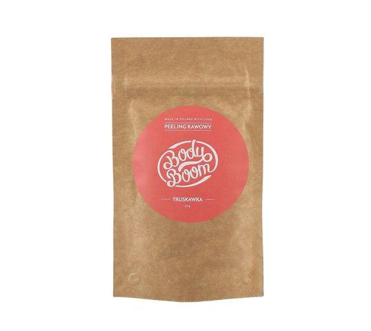 BodyBoom – Coffee Scrub peeling kawowy Truskawka (30 g)