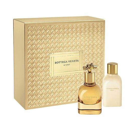 Bottega Veneta Knot woda zestaw prezentowy woda perfumowana spray 50 ml + balsam do ciała 100 ml