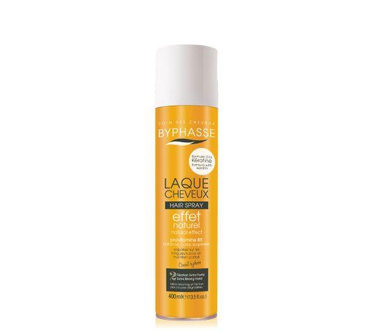 Byphasse Keratin Hair Spray bardzo mocny lakier do włosów (400 ml)