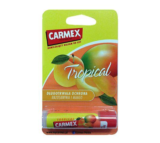 Carmex Pomadka ochronna do ust w sztyfcie Tropical 4.25 g