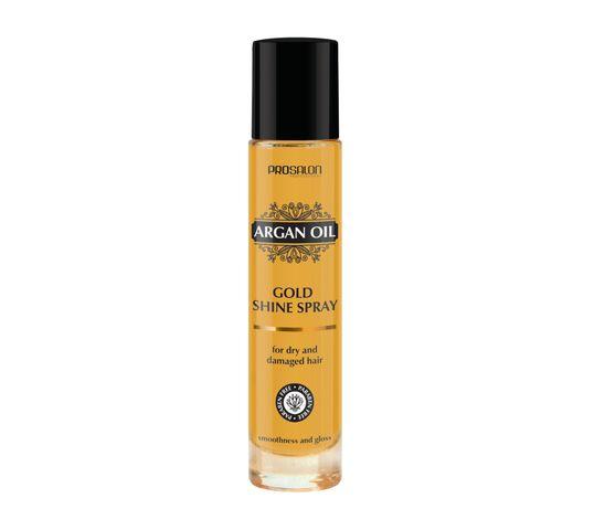 Chantal Prosalon Argan Oil Gold Shine Spray nabłyszczacz do włosów z olejkiem arganowym 100ml