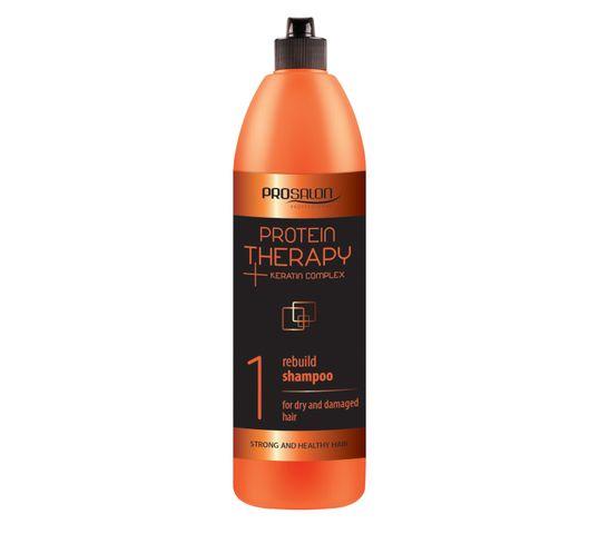 Chantal Prosalon Protein Therapy Keratin Complex 1 Shampoo For Dry And Damaged Hair szampon odbudowujący Keratyna & Ekstrakt z Aloesu 1000g
