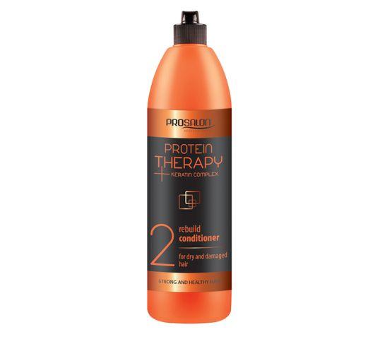 Chantal Prosalon Protein Therapy Keratin Complex 2 Conditioner For Dry And Damaged Hair odżywka odbudowująca Keratyna & Ekstrakt z Aloesu 1000g