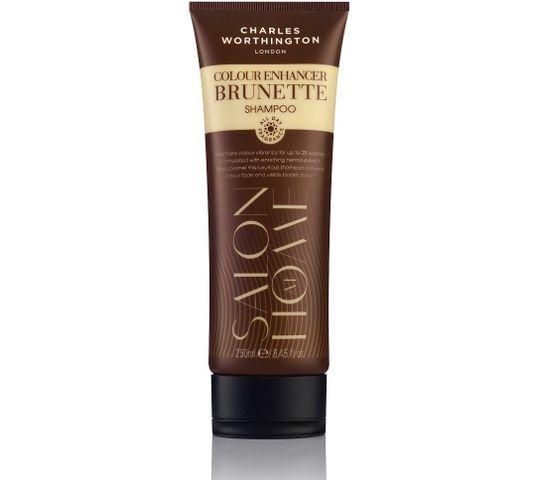 Charles Worthington Salon At Home Colour Enhancer Brunette Shampoo szampon podkreślający i utrwalający kolor dla brunetek 250ml