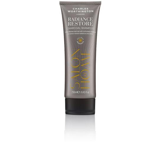 Charles Worthington Salon At Home Rediance Restore Charcoal Shampoo rozświetlający szampon do włosów z ekstraktem z węgla drzewnego 250ml