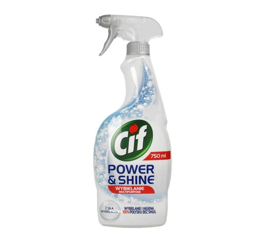Cif Power & Shine spray do mycia powierzchni wybielający 750 ml