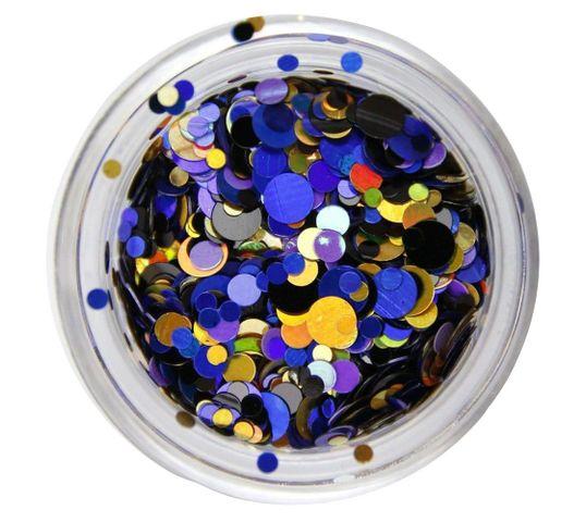 Claresa Confetti ozdoba do paznokci 3 Blue (1 op.)