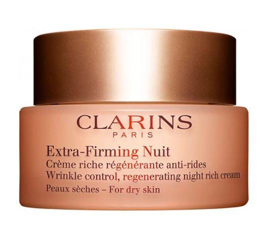 Clarins Extra Firming Night Cream ujędrniający krem na noc do suchej skóry 50ml