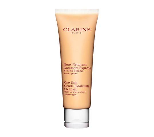 Clarins One Step Gentle Exfoliating Cleanser łagodny peeling myjący do twarzy z ekstraktem z pomarańczy 125ml