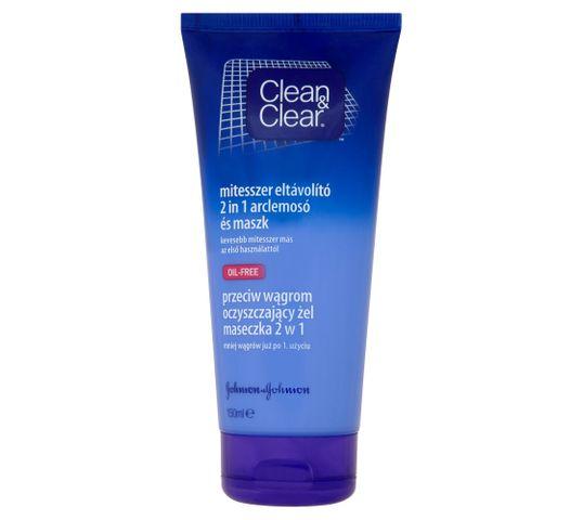 Clean&Clear Głęboko oczyszczający kremowy żel do mycia twarzy 150 ml