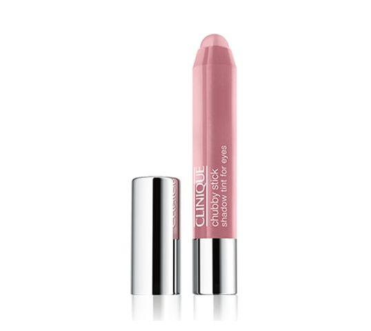 Clinique Chubby Stick Shadow Tint For Eyes cienie do powiek w kredce 07 Pink And Plenty 3g