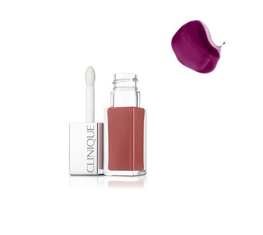 Clinique Pop Liquid Matte Lip Colour Primer płynna pomadka do ust z bazą 08 Black Licorice Pop 6ml