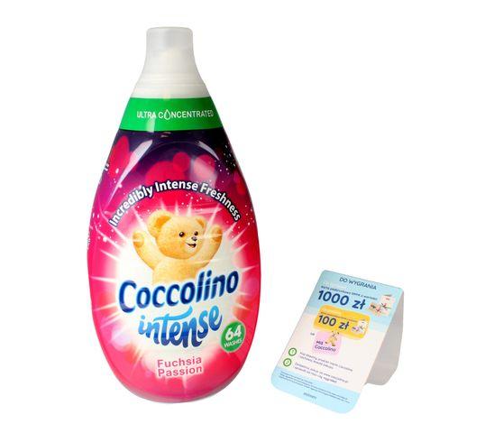 Coccolino Intense Fuchsia Passion koncentrat do płukania tkanin 960ml