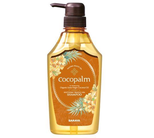 Cocopalm Southern Tropics Spa Shampoo szampon do włosów z organicznym olejem kokosowym i hibiskusem (600 ml)