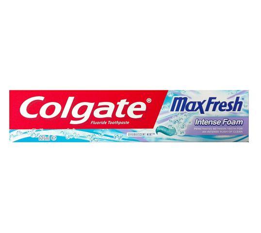 Colgate Max Fresh Intense Foam pasta do zębów 125 ml