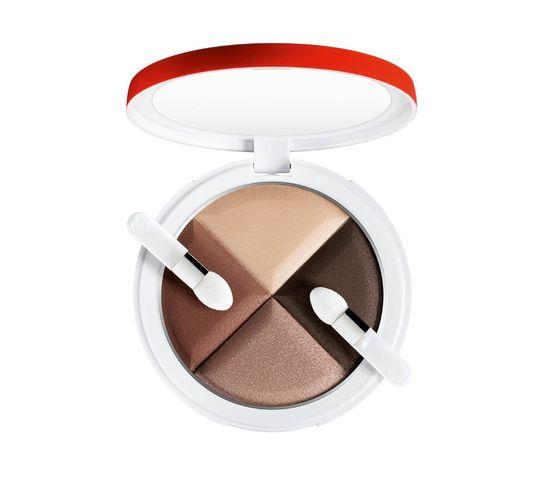 Collistar Illy 4 Eye Shadow Palette paleta 4 cieni do powiek 2 Caffe Caldo 10g
