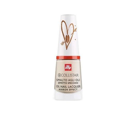 Collistar Illy Oil Nail Lacquer Mirror Effect lakier do paznokci 316 Latte Macchiato 6ml