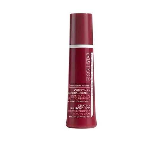 Collistar Keratin Hyaluronic Acid Reconstructing Replumping Active Spray rekonstrukcyjny spray do włosów 100ml