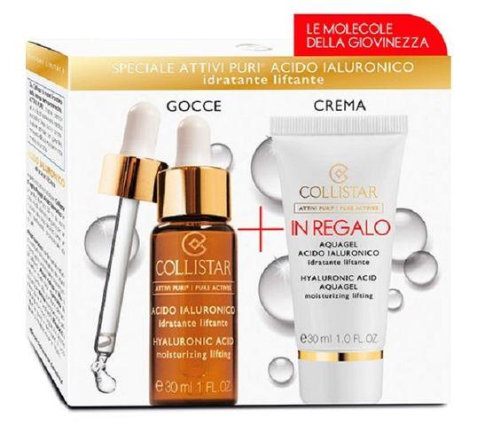 Collistar Zestaw Attivi Puri Glycolic Acid Rich Cream Perfect Skin przeciwstarzeniowy krem do twarzy z kwasem glikolowym 50ml + Glycolic Acid Perfect Skin Peeling peeling do twarzy 30ml