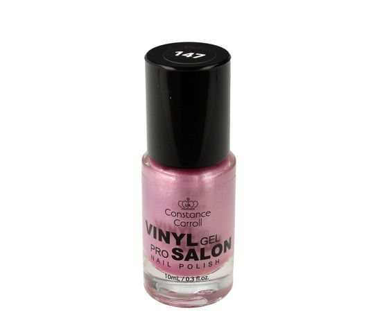 Constance Carroll – lakier do paznokci z winylem Vinyl Gel Pro Salon nr 147 Pearly Lavender (10 ml)