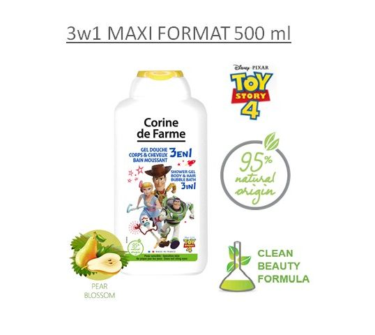 Corine de Farme Incredibles 2 Żel pod prysznic 3w1 500 ml