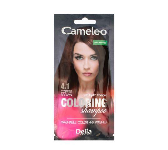 Delia Cameleo Szampon koloryzujący 4.1Kawowy Brąz (40 ml)