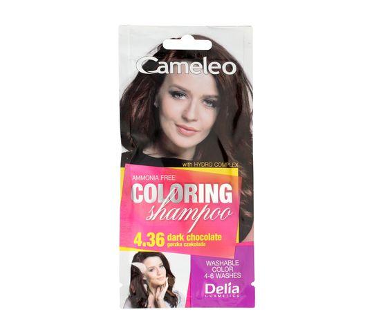 Delia Cameleo Szampon koloryzujący 4.36 Gorzka Czekolada (40 ml)
