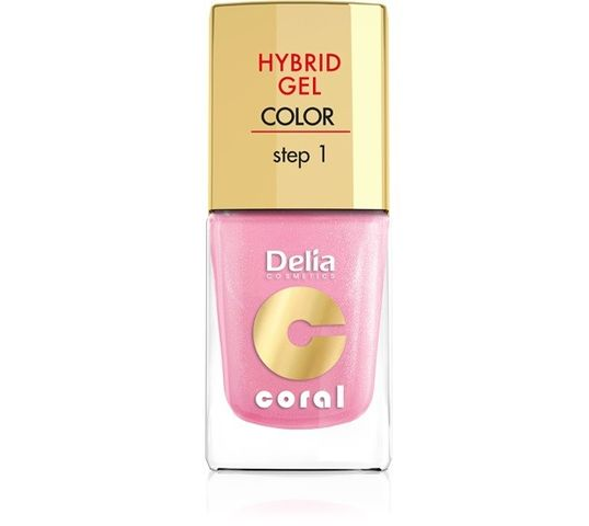 Delia Cosmetics Coral Hybrid Gel Emalia do paznokci nr 31 11 ml