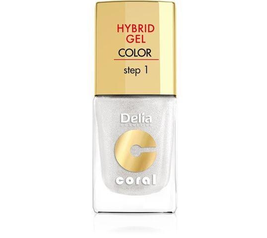 Delia Cosmetics Coral Hybrid Gel Emalia do paznokci nr 32 11 ml