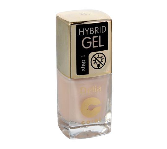 Delia Cosmetics Coral Hybrid Gel Emalia do paznokci nr 41  11ml